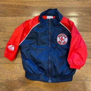 MAJESTIC BOSTON RED SOX AUTHENTIC JACKET 3-6 mo